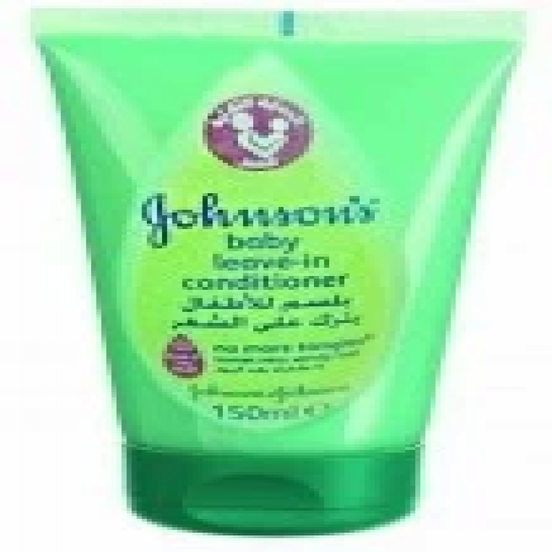 Johnson-conditioner-150-ml-for-children-leaves-on-hair-for-non-tangled