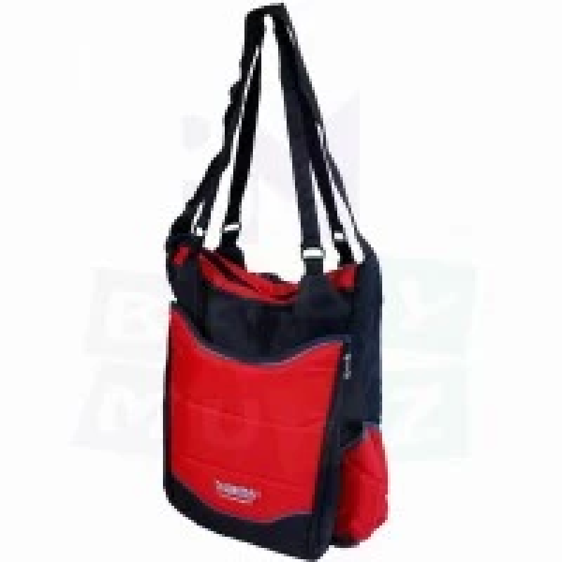 Diaper-bag-for-keeping-baby-supplies-from-Petit-bébé-with-bottle-cover,-wipes-cover-and-baby-spare-_-red-color