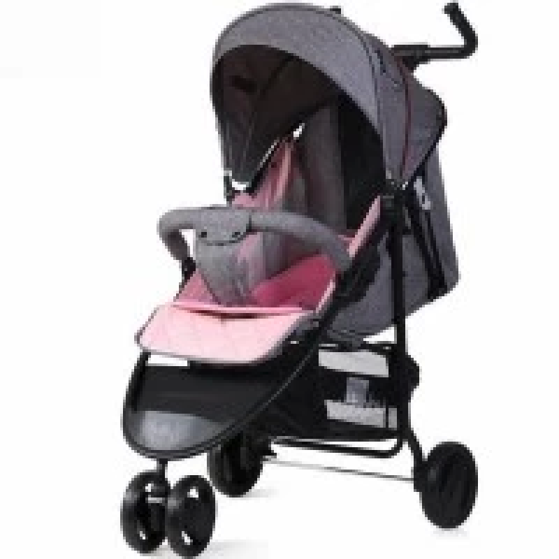 Stroller-kids-from-seebaby-stylish-and-modern-with-the-possibility-of-adjusting-the-seat-for-a-full-bed-_-Pink-color.