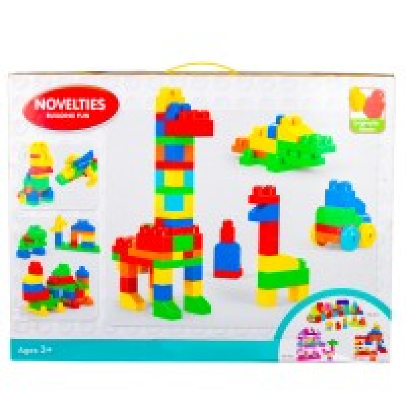 لعبة-مكعبات-novelties-building-fun-عدد-100-قطعة