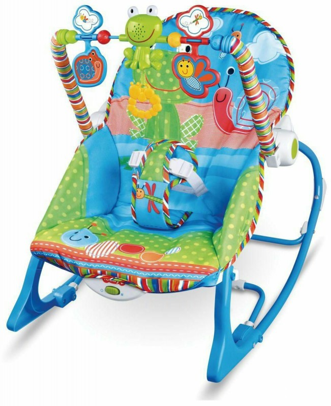 Fisher-price-baby-bouncer-with-toys-for-distraction-the-baby-and-quiet-music-_Blue-color